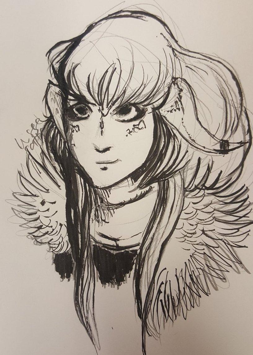 aura drawn by julius jokikokko