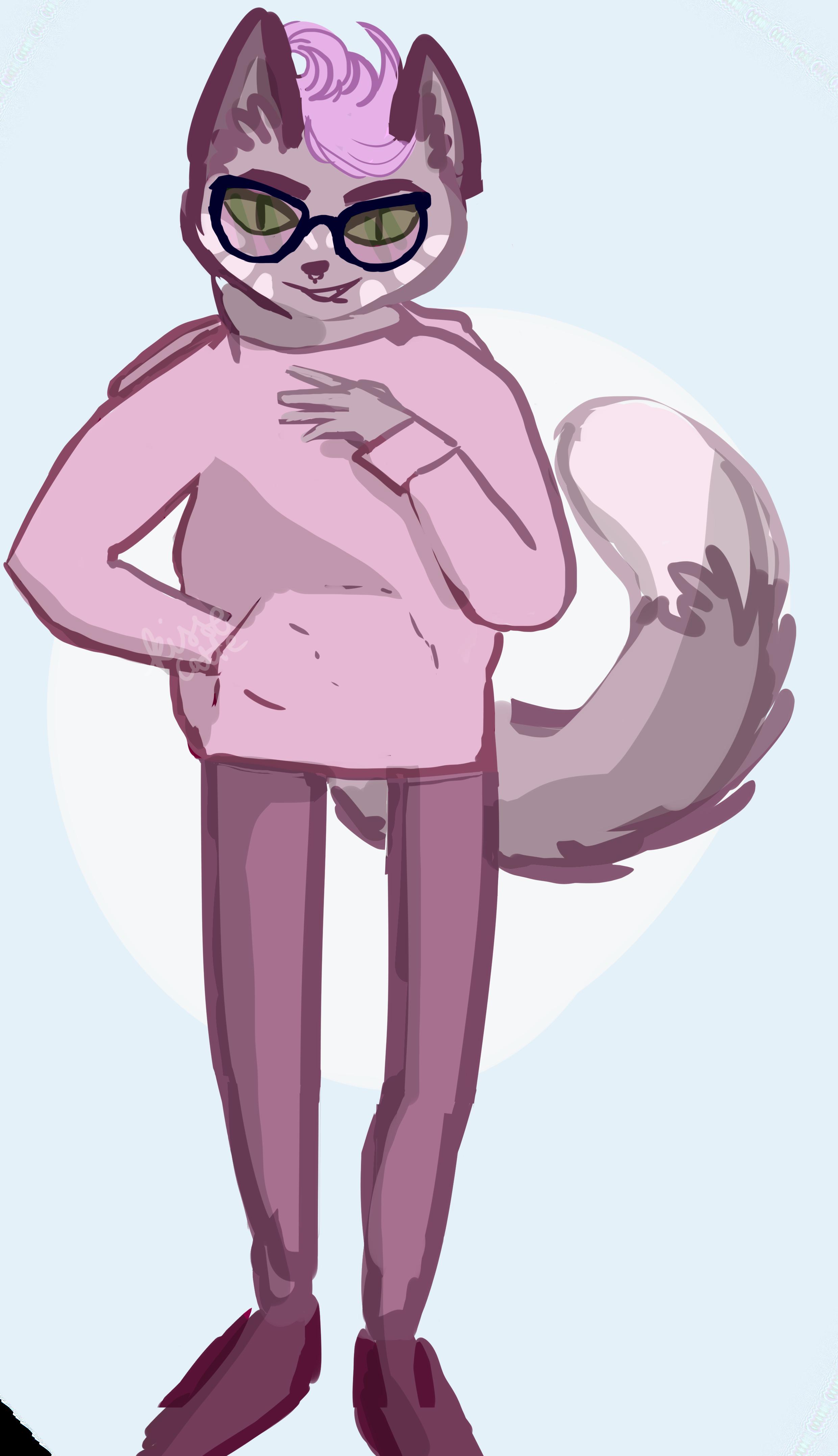 cat furry drawn by kissecat