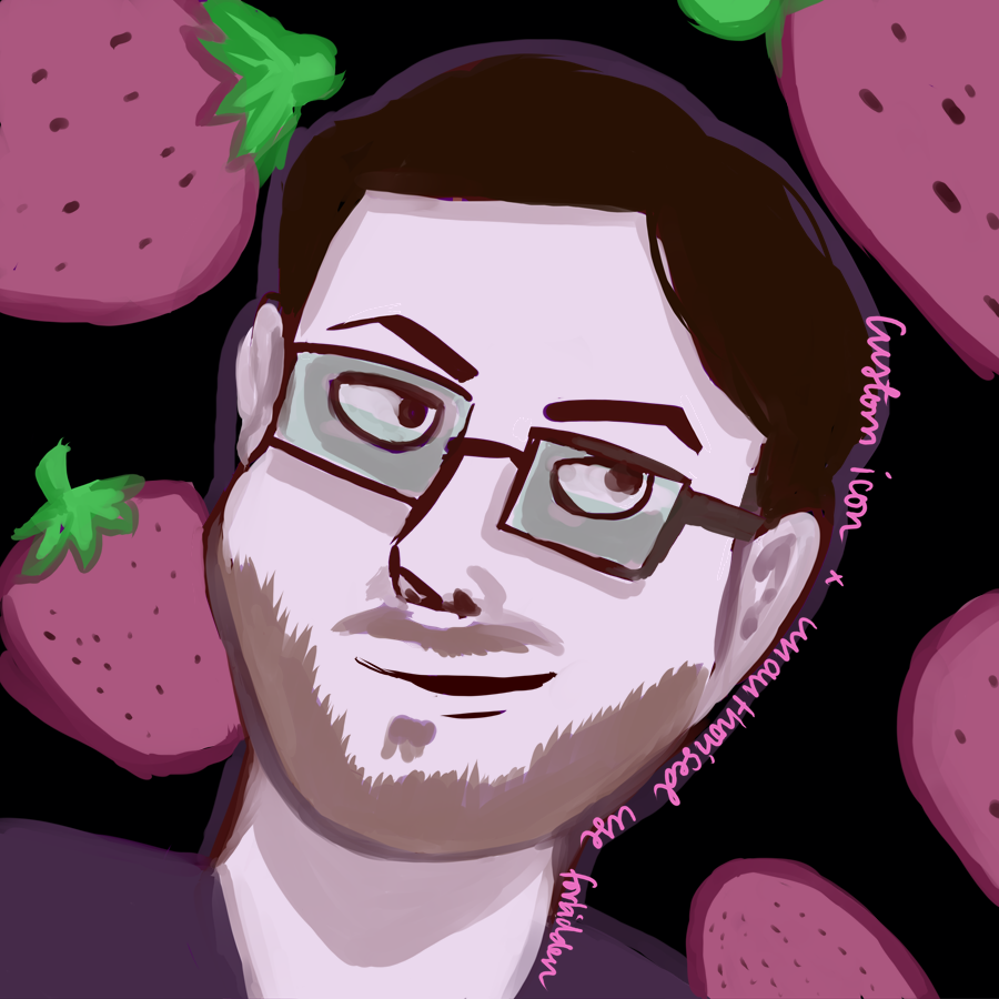 digital drawing of twitter user mansikkamaagi, drawn by kissecatte