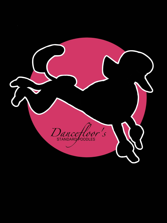 logo designed for dancefloors standard poodle kennel created by kissecatte